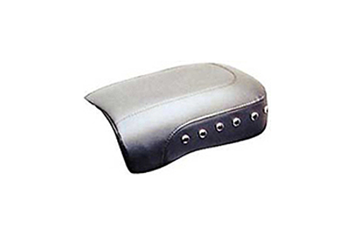Mustang Seats 8.5 inch Recessed Rear Seat for Harley Davidson Touring Models 2008-Up -Black Studs