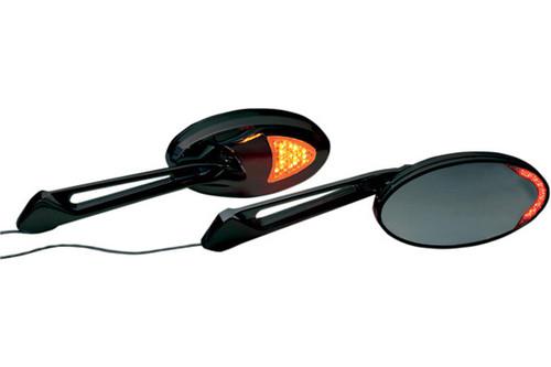 Rivco Products Custom LED Accent Mirrors -Universal-Black (pr)