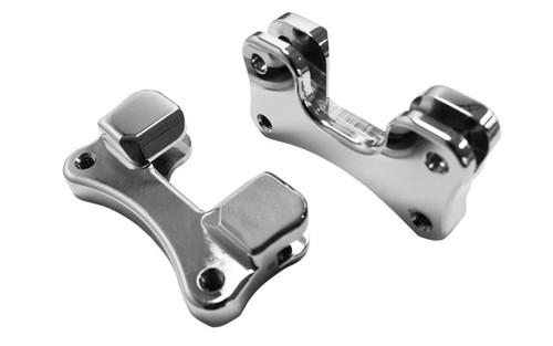 """Drag Specialties Fender-To-Fork Adapters for '14 FLHT/FLHX/FLHR & H-D FL Trike -for 21"""" Wheels, Chrome"""