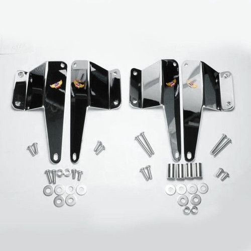 National Cycle  Heavy Duty Mount Kit for Vulcan 1600 Classic '03-08 To be used w/ National Cycle Heavy Duty Windshields Sold Separately