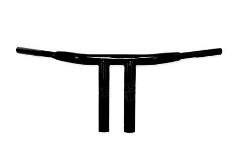"Drag Specialties 1.5"" Big Buffalo T-Bars for '84-13 H-D Models (Except '08-13 FL/Trikes & '11 FLSTSE2) -10"" Gloss Black"