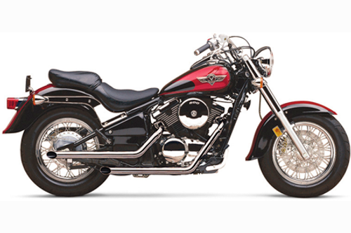 Cobra 2 inch Drag Pipes  for Vulcan 800A/B '95-up