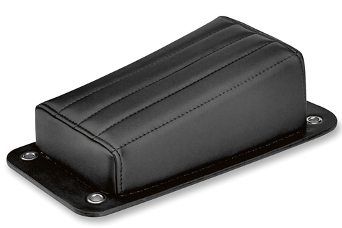 Biltwell Inc. Harlot Pillion Pad for Custom/Rigid Applications -Vertical Tuck n' Roll