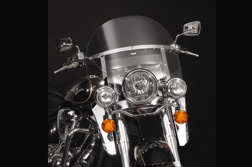 National Cycle SwitchBlade Windshield for Vulcan 2000 Classic  '06-10  - Heavy Duty, Chopped Style Hardware sold separately