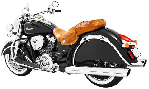 Freedom Performance Liberty 4 inch Slip-On Exhaust  for '14-Up Vintage/Classic - Chrome w/Chrome Tip