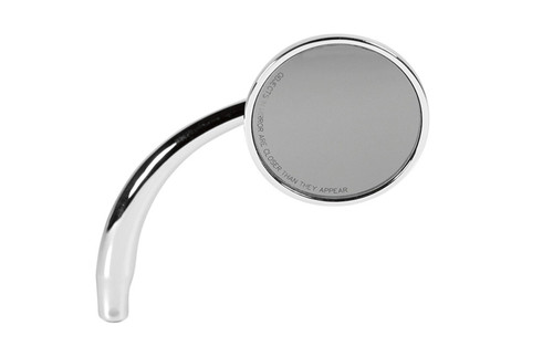 RWD Round Style Mirror -Right-Hand, Chrome (each)