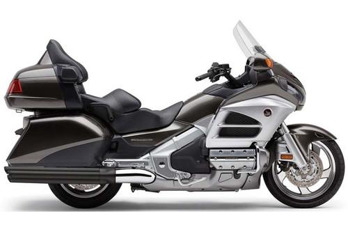 Cobra  6-Into-6 Slip On Mufflers for '12-17 Honda Gold Wing / F6B - Black