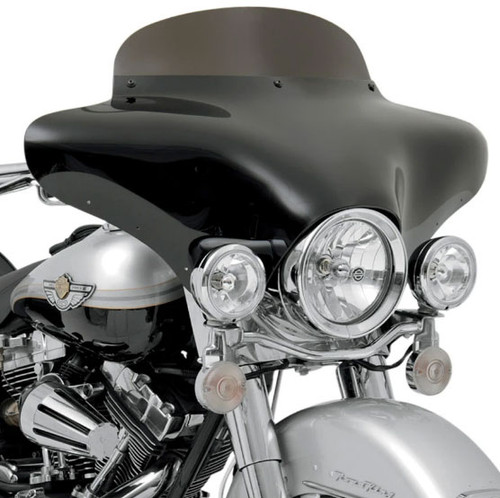 Memphis Batwing Fairing Windshield 12 inch for Metric Models Hardware & Fairing SOLD SEPARATELY