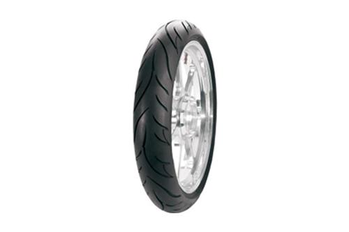 Avon Tires Cobra AV91 Bias Ply AV91 FRONT 120/70-21 BLK  68V (REINFORCED)-Each
