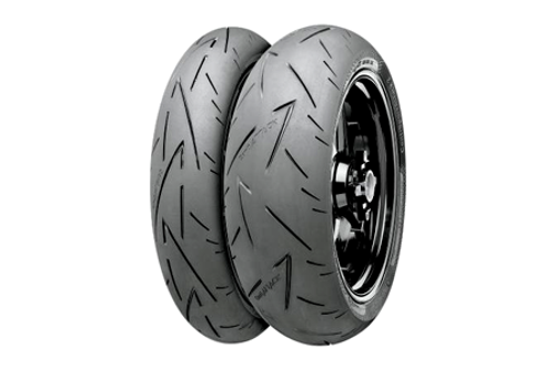 Continental Tires Conti Sport Attack 2 FRONT 110/70ZR-17 (54W) -Each