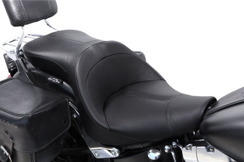 Danny Gray TourIST 2-UP Leather Seat for '07-17 Softail Models (w/ 200mm Rear Tire)