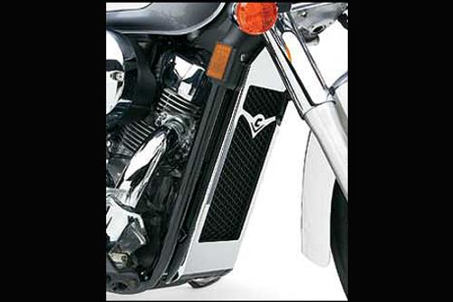 Cobra Billet Radiator Cover for Aero  '04-up