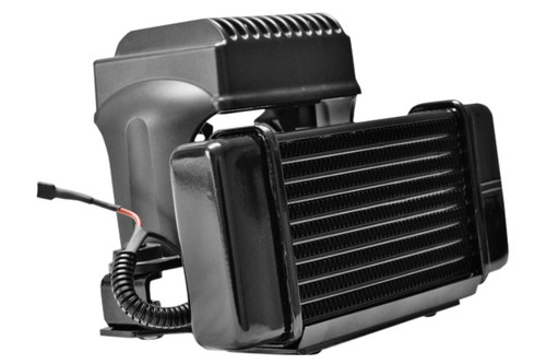Jagg Fan-assisted LowMount Oil Cooler System  for FLH '84-08 Models