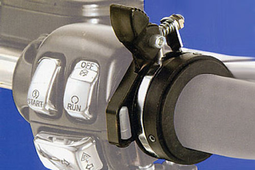 Vista Universal Style Cruise Control with 1 in. Clamp for H-D Models w/ Throttle Cables -Click for Details