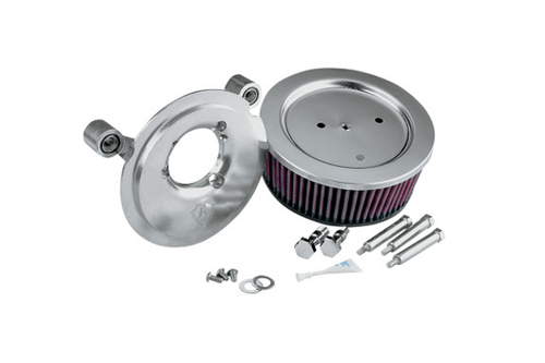 Arlen Ness Big Sucker Stage 1 Performance  Air Filter Kits for  Twin Cam carb  '99-06 & Twin Cam Delphi fuel-injected models '01-17 Natural  (Excludes 08-17 FLH, FLT; 16-17 FLSTFS, FLSS models) DOES NOT INCLUDE COVER