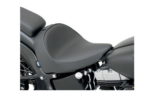 Drag Specialties Solo Seat w/ Driver Backrest Option for '11-13 FXS & '12-17 FLS -Smooth