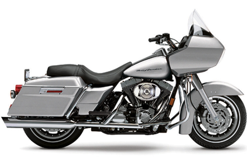 Cobra 4 inch Slip-On Slash-Down Mufflers for Harley-Davidson Touring '95-16