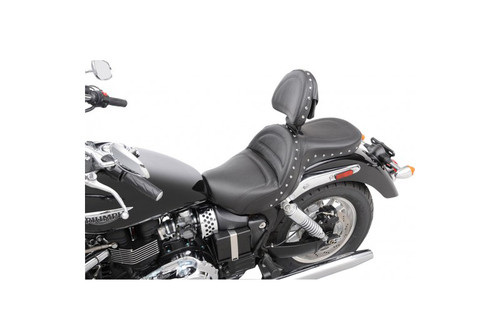 Saddlemen Explorer Special Seat with Driver Backrest for '02-16 Triumph America