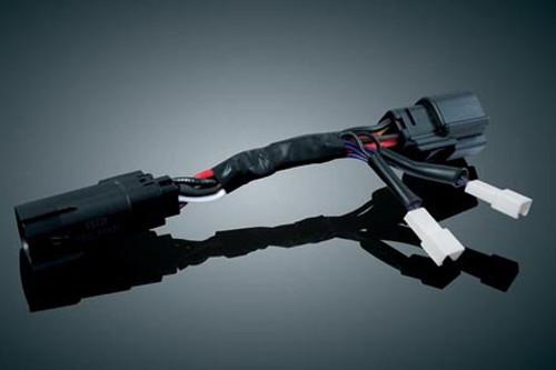 Kuryakyn Plug-In Load Equalizer Adapter for '10-11 FLHX & FLTRX -Each