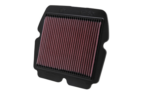K & N  High-Flow Air Filter for Goldwing 1800  '01-up