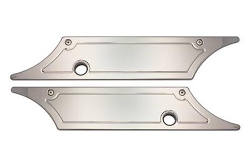 Pro One Saddlebag Latch Covers for '93-13 FL Models -Smooth