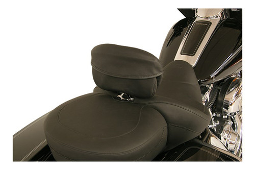 """Mustang Seats Driver Backrest Pouch Cover for Sport Touring Backrest (11"""" Top Width & 7"""" Bottom Width)"""