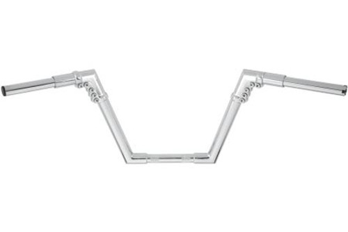 Arlen Ness 1¼ inch Modular Handlebars -10 inch Mini Apes for all Softail, Dyna & XL models (except FXSTS,FLSTS,FXS,FLTR,FLHR) -Chrome