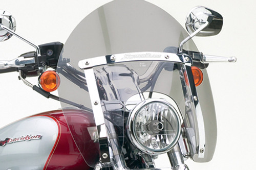 National Cycle SwitchBlade Windshield for FX Softail  Models - Shorty, Tinted Style