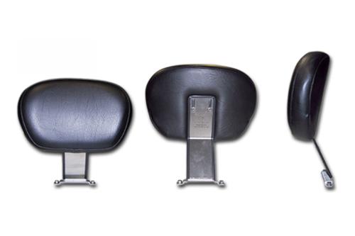 Bakup Driver Backrest with Studded Pad for Vulcan 2000 LT '06-up -Fully Adjustable