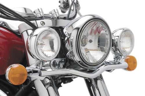 Cobra  Steel Lightbars with Spotlights for Intruder 1500 '98-04