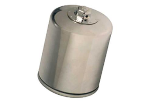 K & N Performance Oil Filters for '80-98 FLT, '82-94 FXR, '84-99 Softail L84-09 XL, all '94-02 Buell Models (except Blast)  Chrome