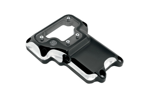 Roland Sands Clarity Transmission Top Cover for '07-13 Softails, '07-16 FL, & '06-13 Dyna Models -Contrast Cut