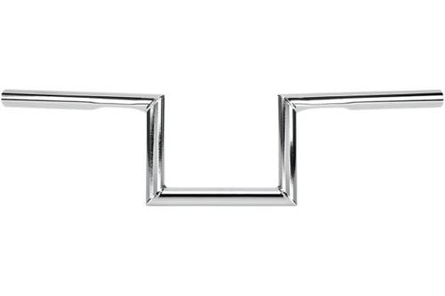 """Biltwell Inc. 1"""" Handlebars -Zed, Chrome"""
