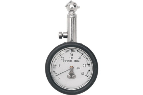 Drag Specialties Tire Pressure Gauge -Each