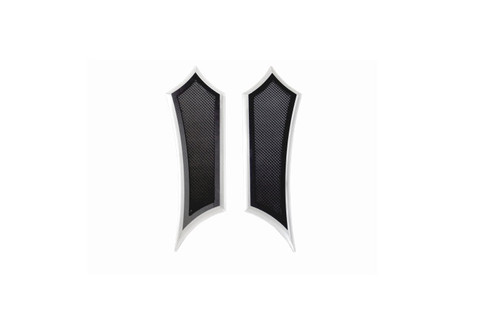 Accutronix Instigator Front Floorboards for all Indian '14-Up Models  - Black Anodized