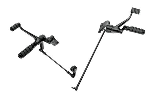Drag Specialties Forward Control Kit for '04-13 XL Models -Standard Position, Black