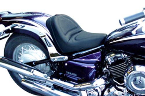 Saddlemen Renegade Deluxe Seat for V-Star 1100 Classic '99-Up Plain Saddlehyde