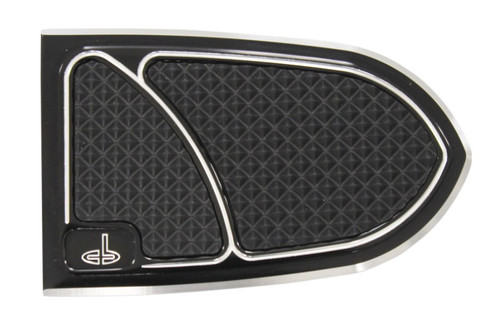 Carl Brouhard Designs Elite Brake Pedal Covers for '12-Up Chieftain/Roadmaster/Chief Classic/Chief Vintage Black