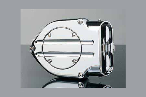 Kuryakyn  Hypercharger with Blood Groove Trap Door for Harley Davidson Touring 2008-2016, Softail & FXDLS 2016-2017 -Chrome