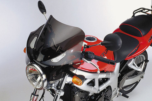 National Cycle F-Series Fairing for Triumph Models -F-15 Sport Dark Tint Click for fitment
