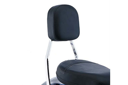 Cobra Sissy Bar Tall 17 inch for Volusia 800 '01-04 & C50 '05-Up