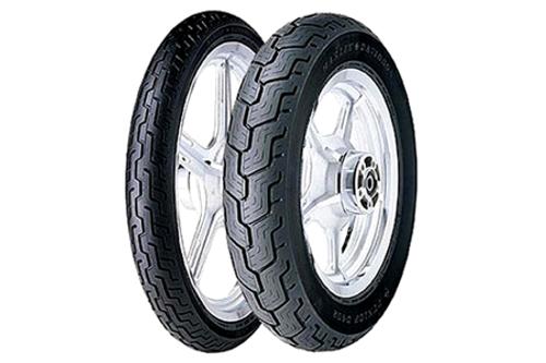 Dunlop Harley Davidson D402 Tires REAR-MT90B16BLK  74H Black -Each