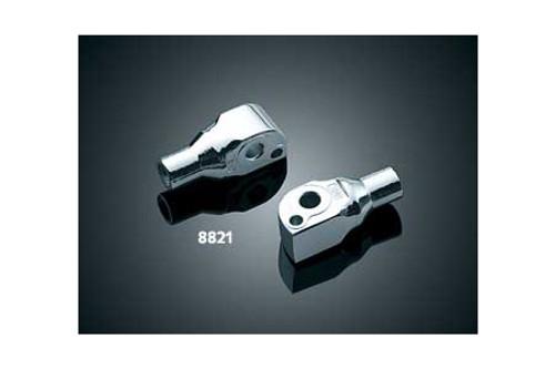 *CLEARANCE* Kuryakyn Rear Footpeg Adapters for Suzuki Models -Pair