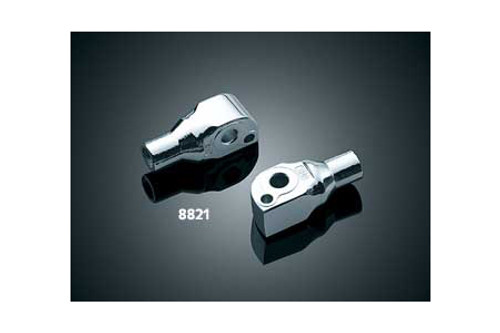*CLEARANCE* Kuryakyn Rear Footpeg Adapters for Suzuki Models -Pair