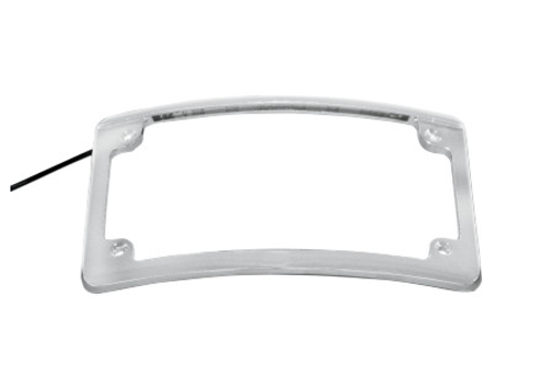 Custom Dynamics LED License Plate Frame -Chrome