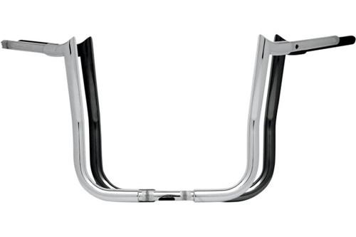 Paul Yaffe 1¼ inch Bagger Monkey Bars for '86-19 FLHT/FLHX, H-D FL Trike  (except models with OEM Air Reservoir Suspension System) -14 inch Chrome Not for '96-13 CVO HYD CLUTCH