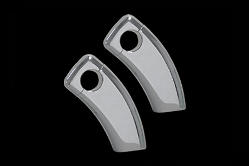 *CLEARANCE* Custom World Int. 3 in. Pull Back Risers for Honda Models 2/ 12mm Bolt Holes Clearance - All Sales Are Final - No Returns