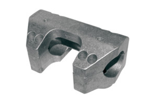 """L.A. Choppers Handlebar Clamp Set for '94-07 FLHR 1.50"""""""