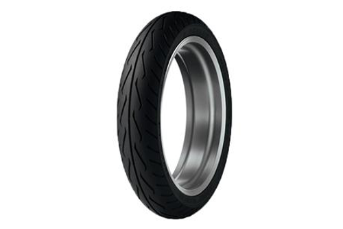 Dunlop Original Equipment Replacement Tires for GL1800 '01-10 (all)   FRONT 130/70R18  63H   BLK  D250 Model -Each