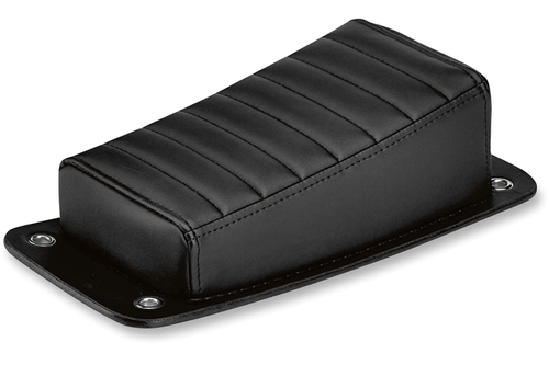 Biltwell Inc. Harlot Pillion Pad for Custom/Rigid Applications -Horizontal Tuck n' Roll